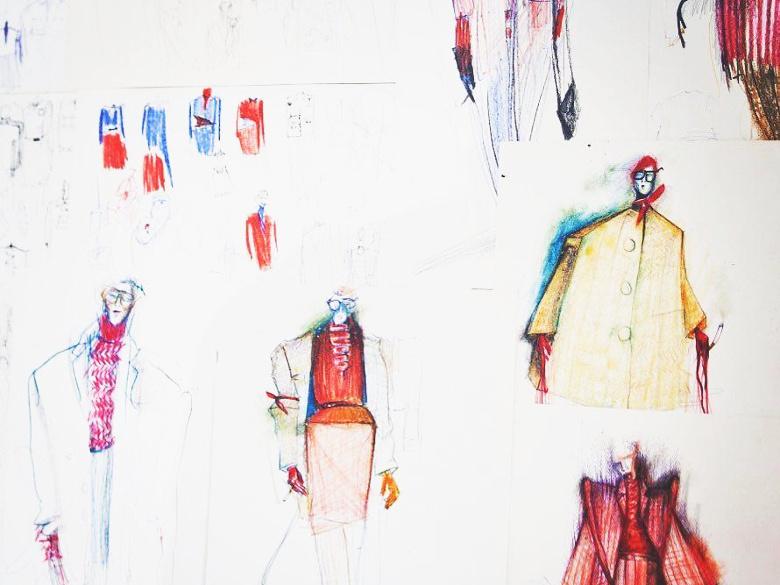 Pavel Berky a jeho návrhy šatů na míru