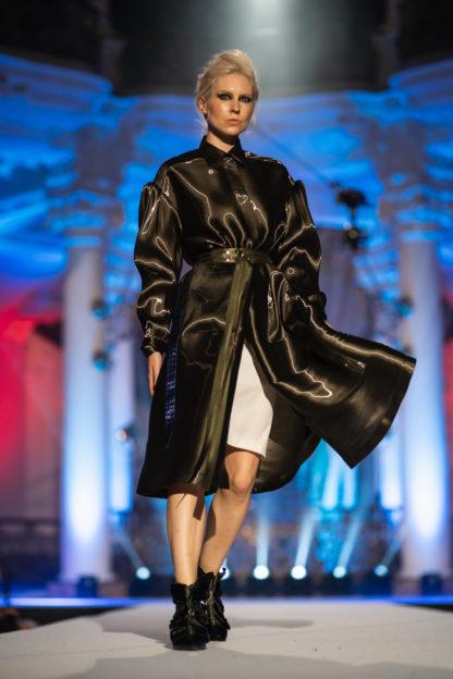 Pavel Berky Luxusní lesklý kabát