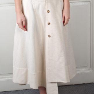 Pavel Berky flanelová smetanová sukně